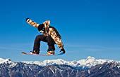 Snowboarder, Skigebiet Cerkno