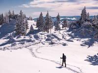 Schneewandern, Slowenien
