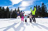 Winterurlaub Familie, Skigebiet Rogla