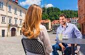 Ljubljana, Cafe Altstadt