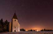 Winterabend Pohorje