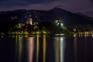 Bled - Nachtaufnahme