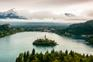 Panoramablick Bleder See
