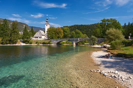 Ribcev Laz - Bohinj, Slowenien