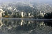 Bohinj, Ribcev Laz - Kirche & See