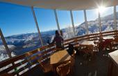 Ausblick auf Bohinj vom Skizentrum Vogel