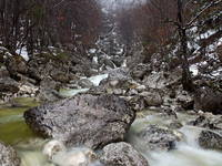 Bohinj - Govic Wasserfall