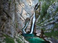 Bohinj - Wasserfall Slavica