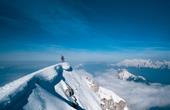 Bovec - Aufstieg Krn im Winter