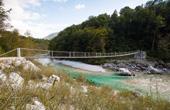 Bovec - Hängebrücke Srpenica Soca