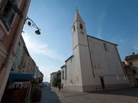 Izola - Kirche Maria von Leto