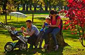Familienausflug Arboretum Kamnik