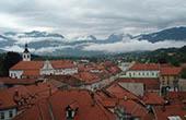 Panorama Altstadt Kamnik