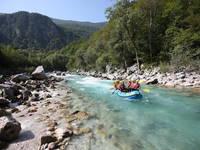 Kobarid - Raftingtour