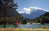 Radfahren Jasna See
