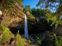 Kranjska Gora - Wasserfall Pericnik
