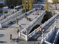 Ljubljana - Drei Brücken - Tromostovje