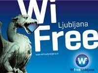 Ljubljana - Kostenloses WLAN