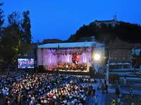 Ljubljana - Konzert Kongressplatz