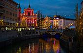 Ljubljana - Weihnachtszeit