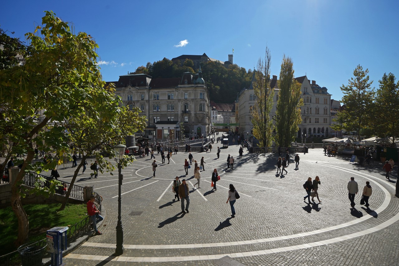 Ljubljana Slowenien Reiseführer Kroatide