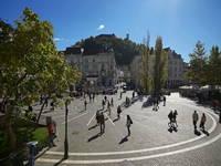 Ljubljana - Preseren-Platz