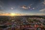 Sonnenuntergang Ljubljana