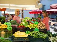 Ljubljana - Zentraler Markt