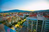 Maribor - Abenddämmerung Luft 360