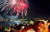 Feuerwerk Lent Festival Maribor