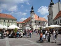 Maribor - Hauptplatz Glavni trg
