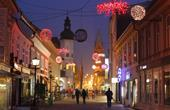 Maribor - Innenstadt Dezember