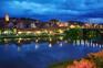 Nachtaufnahme Maribor - Lent Viertel