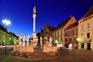 Nachtaufnahme Glavni Trg. Maribor
