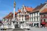 Maribor - Pestsäule am Glavni Trg