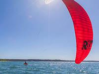 Piran - Kite Surfen