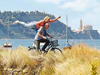Piran - Rad fahren