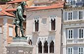 Piran - Tartini Statue & Venezianisches Haus