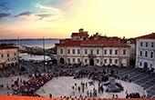 Piran - Veranstaltung Tartini Platz