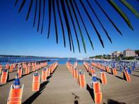 Piran - Hauptstrand Portoroz