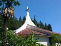 Portoroz - Kirche Hl. Jungfrau Maria vom Rosenkranz