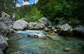 Fluss Savinja