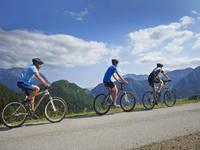 Radfahren Panoramaweg Solcava
