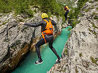Bovec - Canyoning