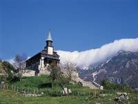 Tolmin - Javorca, Heiliggeist - Gedenkkirche
