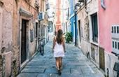 Malerische Altstadt Piran